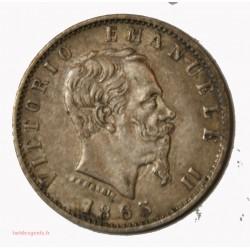ITALIE - 20 centesimi 1863 M Vittorio Emanuel II (2)