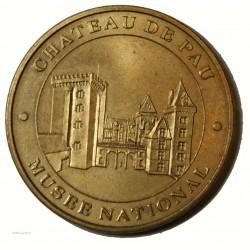Médaille touristique 1998 Chateau de Pau Musée National