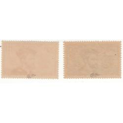 TIMBRES N°296 et N°297 JACQUES CARTIER 1934 NEUFS** SIGNES COTES 300 Euros L'art des gents