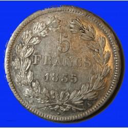 Louis Philippe Ier - écu 5 Francs 1835 A Paris
