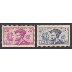 TIMBRES ANNEE 1934 N°296 et N°297 NEUFS** COTE 300 Euros L'art des Gents