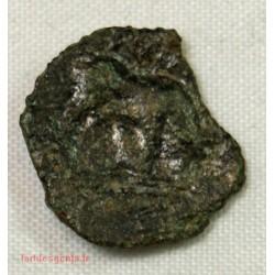 GAULOISE - Moyen bronze au taureau  tête à gauche