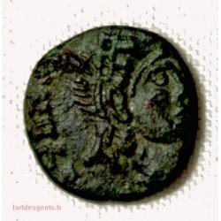 ROMAINE -Nummus (AE4) 0.76grs 10mm à identifier