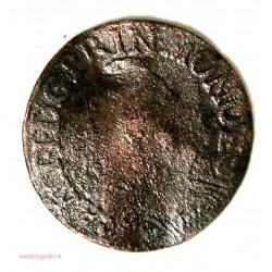 MONACO - LIARD de 4 sol Antoine Ier 1720 frappe médaille