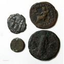 ROMAINE - lot de 4 bronze à identifier