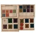 Allemagne-Hambourg timbres-CHARLES VAN DIEMEN et Institut Hamburger Boten