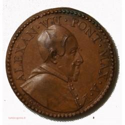 Médaille Vatican Alexandre VII - VIVO EGO IAM NON EGO