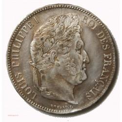 Louis Philippe Ier - écu 5 Francs 1835 D LYON TTB++