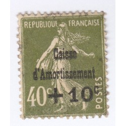 TIMBRE N°275 Caisse Amortissement 1931 NEUF COTE 60 Euros