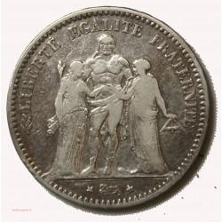 HERCULE- écu 5 Francs 1874 K Bordeaux