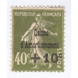 TIMBRE N°275  Caisse Amortissement 1931 NEUF** COTE 140 Euros