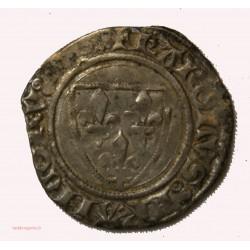 CHARLES VI - Blanc guénard Saint-Quentin 11-09-1389