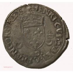 HENRI II - Douzain aux croissants 1550 D. Lyon