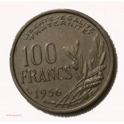 MODERNE -100 fRANCS cOCHET 1956 TTB