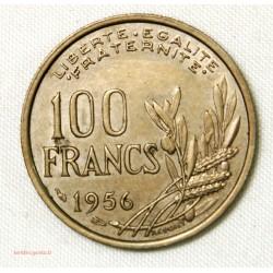 MODERNE -100 fRANCS cOCHET 1956 TTB++