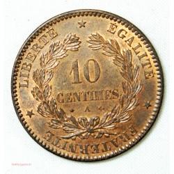 CERES - 10 centimes 1871 petit A Paris SPLENDIDE