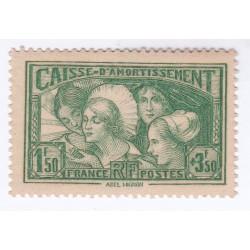 Timbre N°269 Caisse Amortissement ANNEE 1931 NEUF** SIGNE Côte 350 Euros l'art des gents