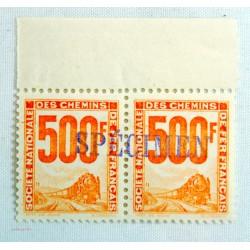 TIMBRES colis postaux paire N°25 SPECIMEN COTE 120 Euros l'art des gents