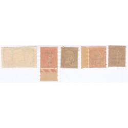 TIMBRES ANNEE 1930 N°263 à 267 NEUFS** COTE 279 Euros L'art des gents
