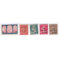 TIMBRES ANNEE 1930