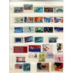 Lot de 56 timbres non dentelés France neuf**