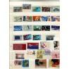 Lot de 56 timbres non dentelés France neuf** Année 1980-90