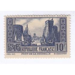 TIMBRE N°261 PORT DE LA ROCHELLE  NEUF ** Signé Côte 170 Euros L'art des gents