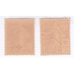 TIMBRES CROIX ROUGE  N°146 à 147 Année 1914 NEUFS**  Côte 107.50 Euros