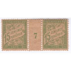 MILLESIMES - TIMBRES-TAXE N°30 Année 1919 NEUFs Signés Cote 80 Euros L'art des gents