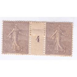 MILLESIMES - TIMBRES-TAXE N°30  Année 1917 NEUFS Signés Cote 80 Euros  L'art des gents
