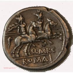 ROMAINE République - Denier MARCIA 148 AV. JC