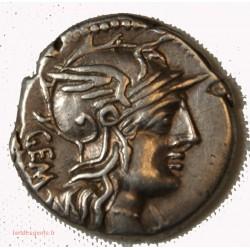 ROMAINE République - Denier ABURIA 134 AV. JC