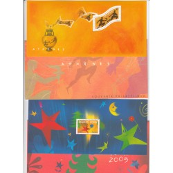 BLOCS SOUVENIRS N° 2 et 3 - COTE 40 Euros - L'ART DES GENTS