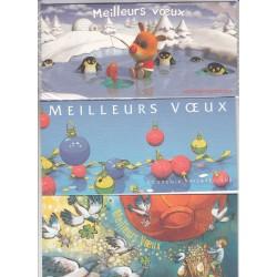 LOT de 8 BLOCS SOUVENIRS MEILLEURS VOEUX NEUFS** - COTE 232 Euros - L'ART DES GENTS