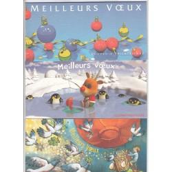 LOT de 3 BLOCS SOUVENIRS MEILLEURS VOEUX NEUFS** N°15-25et 45- COTE 46 Euros - L'ART DES GENTS