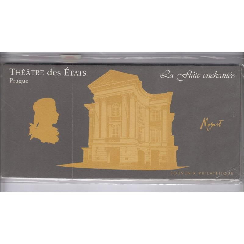 BLOCS SOUVENIRS PERSONNAGES CELEBRES MOZARD N°7 à N°12 NEUFS**  COTE 48 Euros - L'ART DES GENTS