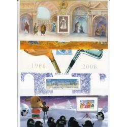 LOT 14 FEUILLETS SOUVENIRS N°1 à 15 SAUF LE N°4  NEUFS**  COTE 257 Euros - L'ART DES GENTS