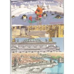 LOT DE  10 BLOCS SOUVENIRS ANNEE 2004 à 2009  NEUFS**  COTE 113 Euros - L'ART DES GENTS