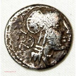 République Romaine denier JUNIA 91 AV JC
