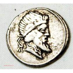 République Romaine denier TITIA 90 AV JC