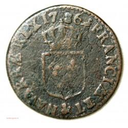LOUIS XVI - Demi sol 1786 Aix