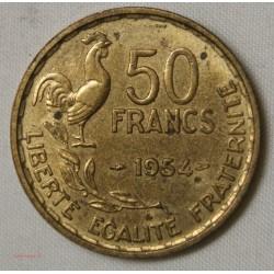 MODERNE - 50 Francs 1954 G.Guiraud TTB