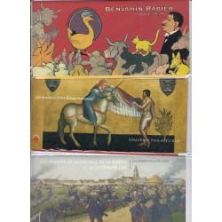 LOT 6 BLOCS SOUVENIRS N°66-91-93-94-95-98  NEUFS** - L'ART DES GENTS
