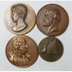 Médailles - Joachim Napoléon, Jeunesse et Sport, JV PONCELET, Voilier