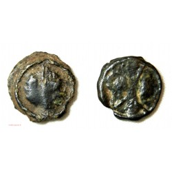 GAULOISE - lot de potin Bronze Swastika et à identifier...