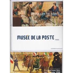 LOT 3 BLOCS SOUVENIRS N°160 - 161 - 162 - 2019  NEUFS** sous blister - L'ART DES GENTS