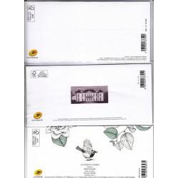 3 BLOCS SOUVENIRS N°131 - N°137 - N°143  Les grandes heures de l'histoire - 2018 et 2019  NEUFS** - L'ART DES GENTS