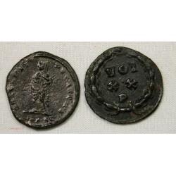 ROMAINE - lot de 2 petits Bronze