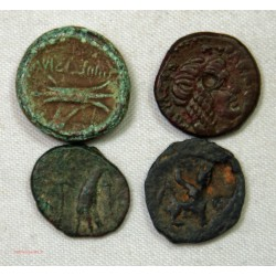 GREC - lot de petit bronze, Cléopatre etc...