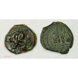 GAULOISE - lot de Bronze au taureau de Marseille - 10/11mm
